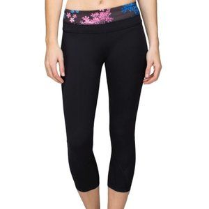 Lululemon Run Inspire Crop II Size 4 Petal Pop